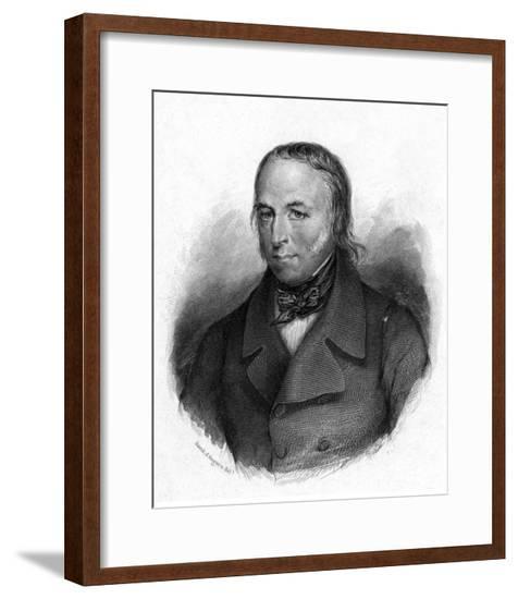 Louis Vicomte Cormenin-David d'Angers-Framed Giclee Print
