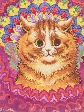 A Psychotic Cat by Louis Wain