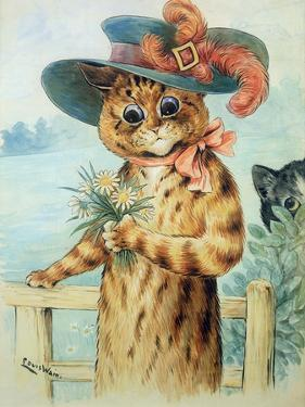 Flowers for the Duchess by Louis Wain