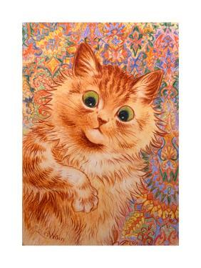 Ginger Cat, 1931 by Louis Wain