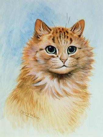 Ginger Tom by Louis Wain
