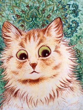 Kaleidoscope Cats II by Louis Wain