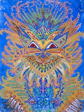 Kaleidoscope Cats VI by Louis Wain