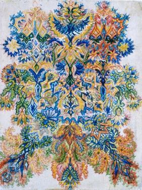 Kaleidoscope Cats VIII by Louis Wain