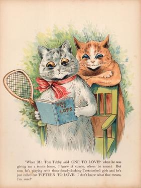 Louis Wain Cats by Louis Wain