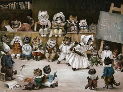 Mrs Tabitha's Cats' Academy, 1895