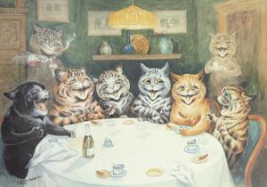 The after Dinner Speaker by Louis Wain