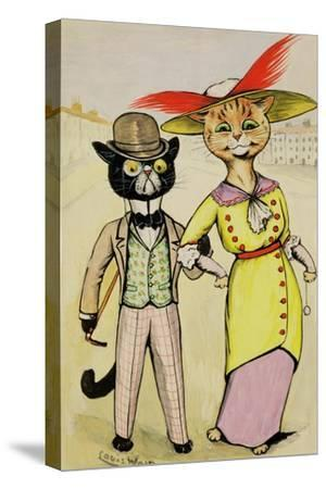 The Modern 'Arry and 'Arriet, 1913 by Louis Wain