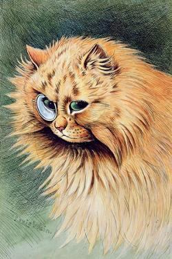 The Monocle by Louis Wain