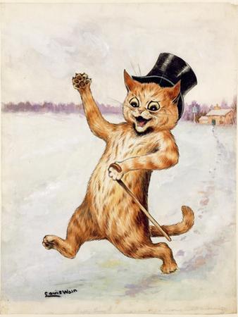Top Cat! by Louis Wain