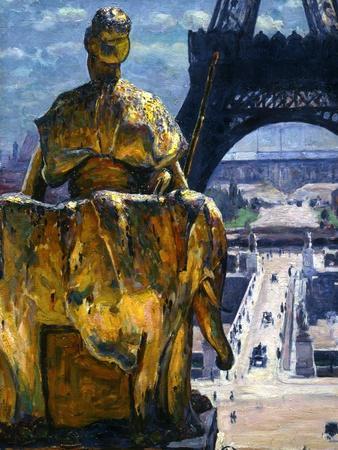 The Eiffel Tower, 1900
