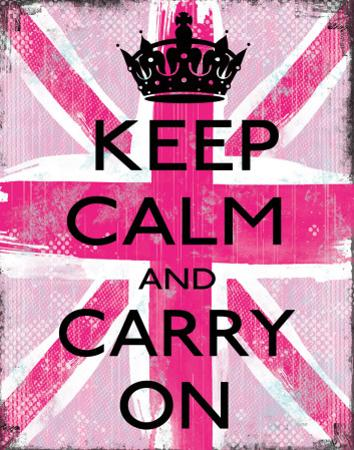 Keep Calm And Carry On by Louise Carey
