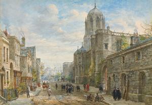 Christ Church, Oxford by Louise Ingram Rayner