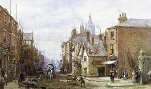 A View of Chester by Louise J. Rayner