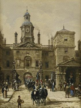 Horse Guards Parade by Louise J. Rayner