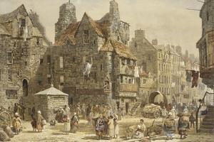 John Knox's House, Edinburgh by Louise J. Rayner