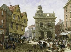 Ludlow Market by Louise J. Rayner