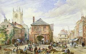Ludlow by Louise J. Rayner