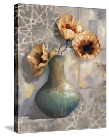 Mediterranean Poppies I by Louise Montillio
