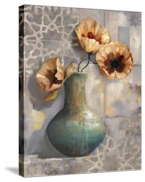 Mediterranean Poppies I by Louise Montillio