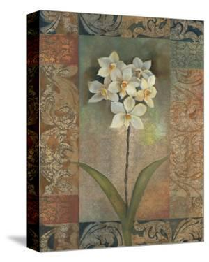 Orchids Tapestry by Louise Montillio