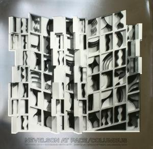 At Pace Columbus, Silver by Louise Nevelson