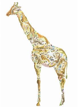 Giraffe by Louise Tate