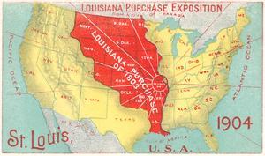 Louisiana Purchase, St. Louis, Missouri