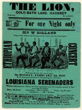 Louisiana Serenaders at the Lion, Hackney