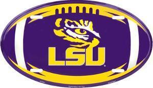 Louisiana State Tigers Oval w/Logo