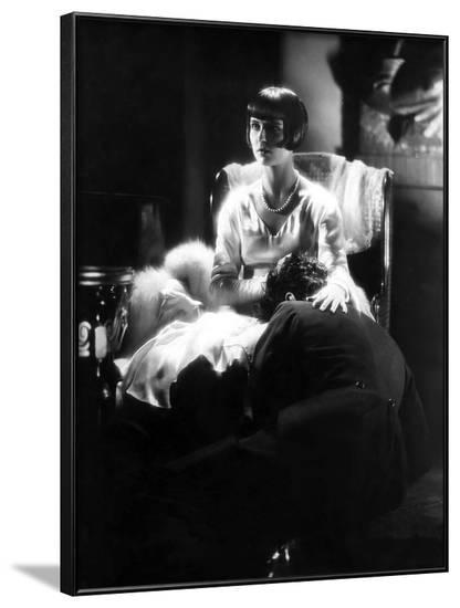 Loulou Lulu La boite by Pandore Pandora's Box by GeorgWilhelmPabst with Louise Brooks, 1929 (b/w ph--Framed Photo