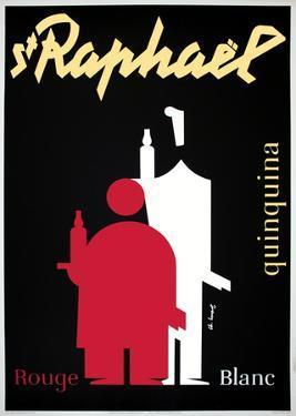 Saint Raphael by Loupot