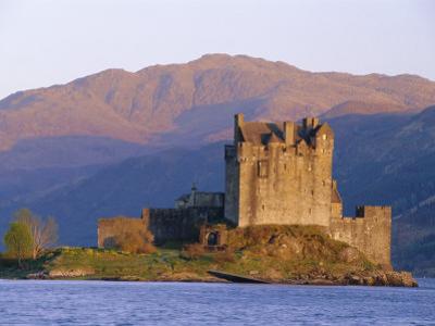 Eilean Donan Ieilean Donnan) Castle Built in 1230, Dornie, Scotland by Lousie Murray