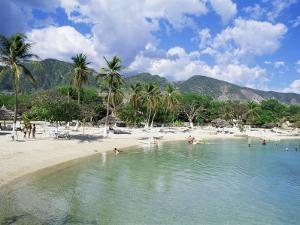 Kyona Beach Club, North of Port Au Prince, Haiti, West Indies, Central America by Lousie Murray