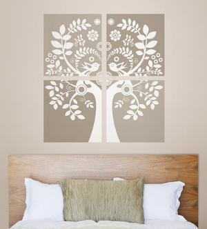 Love Birds Wall Art Kit