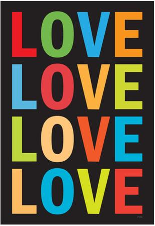 Love (Colorful 2) Art Poster Print