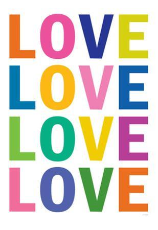 Love (Colorful, White)