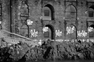 Love Graffiti Brooklyn New York