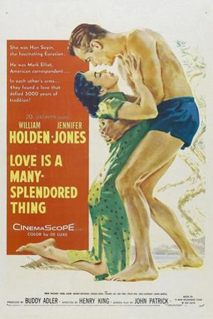 Love Is a Many-splendored Thing, 1955, Directed by Henry King