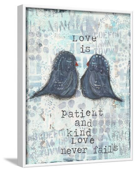 Love Is Patient-Cassandra Cushman-Framed Art Print