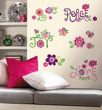 Love, Joy, Peace Peel & Stick Wall Decals
