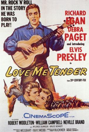 Love Me Tender, 1956