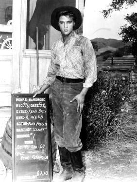 Love Me Tender, Elvis Presley, Wardobe Test, August 28, 1956
