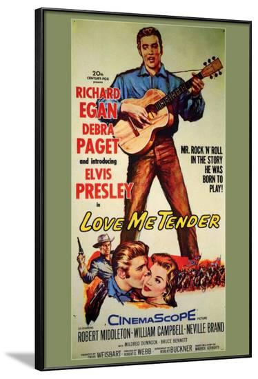 Love Me Tender--Framed Poster