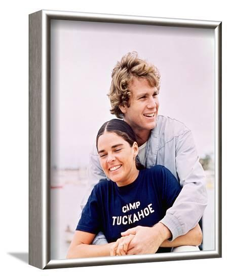Love Story--Framed Photo