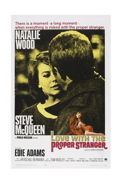 Love with the Proper Stranger, from Left: Natalie Wood, Steve Mcqueen, 1963