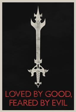 Loved By Good Feared By Evil Retro