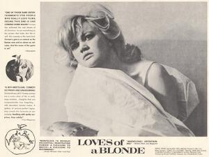 Loves of Blonde, 1967