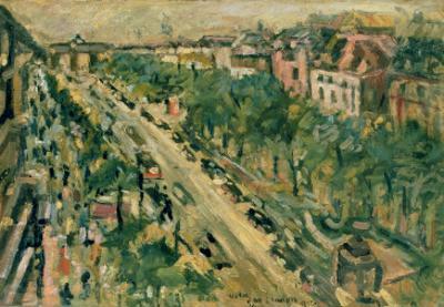 Berlin, Unter Den Linden, 1922 by Lovis Corinth