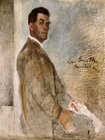 Franz Heinrich Corinth, the Artist's Father, 1888 by Lovis Corinth